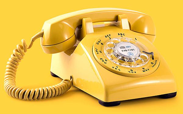 טלפון צהוב