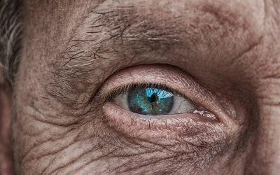 תמונת תקריב של עין